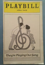 THEY'RE PLAYING OUR SONG Playbill (January 1980) Lucie Arnaz + Tony Roberts