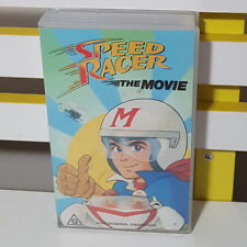 Vhs Video Speed Racer The Movie