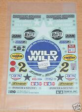 Tamiya 58242 Wild Willy 2/49337 Segunda Guerra Mundial metálico, 9495329/19495329 calcomanías/Pegatinas