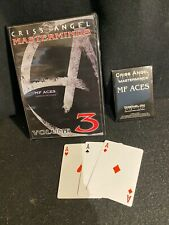 Mf Aces By Criss Angel Vol 3 Of Masterminds W/Gimmicks