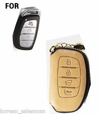 Handmade Italy Leather car Key remote Fob case /Tucson,LF Sonata,Avante,Hyundai