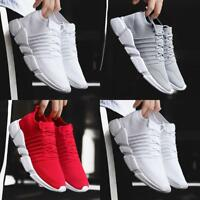 Mens Sports Running Shoes Mesh Casual Breathable Athletic Outdoors Sneakers New