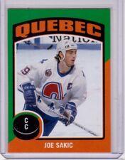 JOE SAKIC 14/15 OPC O-Pee-Chee #ST-13 Retro Sticker Insert Nordiques Card