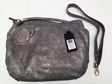 Liu Jo Damen Handtasche Sacca L Suede antracite Kunstleder A64191E0029-93906
