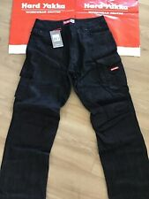 1 Hard Yakka Legends Work Jeans Pants Black 92R  Y03041 Denim
