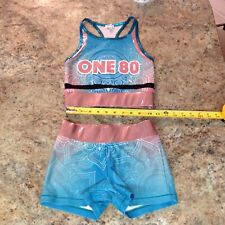 New listing REBEL ATHLETIC Real Cheerleading SPORTS BRA Top AXS Adult Extra Small ROSE GOLD