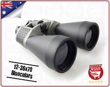 12-36x70 Binoculars Center Focus Porro Prism Binoculars Precision Optical
