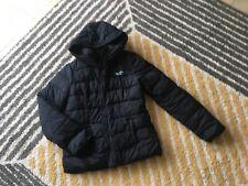 Hollister Women's Ladies Black jacket coat at size L(Large).VGC