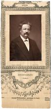 Lemercier, Paris, artiste, Opéra, Auguste Boudouresque (1835-1905) Vintage Print