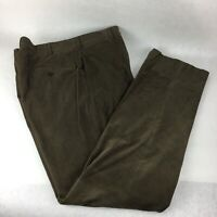 Ermenegildo Zegna Casual Pants Corduroy Size 52IT 36 L Olive green