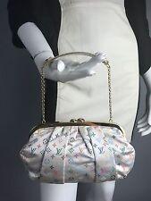 LOUIS VUITTON LE  Multicolore Monogram Satin Clutch Aumoniere Evening Bag $1960