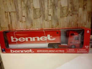 Modellino Die Cast NEW RAY Mercedes Benz Actros BENNET 1/43