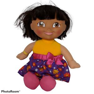"Fisher Price Dora The Explorer Singing Birthday Plush Stuffed Animal 2009 13"""