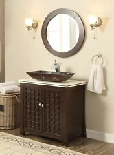 "30"" Décor Style Giovanni Bathroom sink vanity cabinet w/mirror - Model #Hf339A"