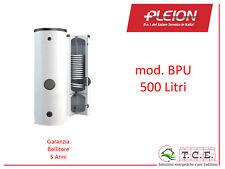 Bollitore ACS + Accumulo Puffer per Pompe di Calore PLEION mod BPU 500 L Solare
