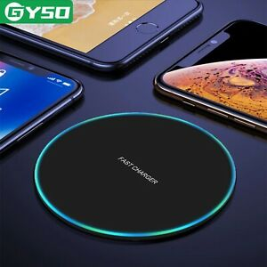 20W Fast Wireless Charger For IPhone and Samsung QI Charging Pad any android