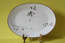 ROSENTHAL Form 2000 Japanische Kirschblüte Servierplatte Platte 33,5 x 24,5 cm