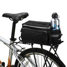 Cycling Bicycle Bike Shoulder Handbag Pannier Rear Seat Bag Rack Trunk Storage