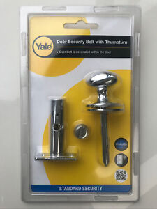 Yale Security Bolt With Thumbturn