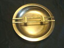 Vintage...Art-Deco....Brass...&..Metal....Ashtray