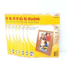 Kodak Photo Paper Bulk Lot 7 x 20 Packs A4 Gloss Instant Dry 180 GSM 165 Microns