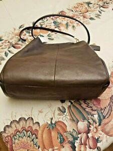 NWT COACH Madison Leather Small Phoebe Shoulder Bag F26224 Midnight Oak