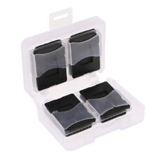 8CF+8SD Card Compact Flash Memory Cards Holder Protector Box Storage Case