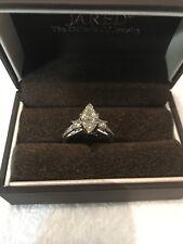 Natural Marquise BRILLIANT 1.10 CT VS1 DIAMOND Engagement Ring GSI Authen!!!