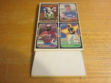 1987 Donruss EMPTY Box Cards on Bottom Jose Canseco, Dale Murphy MLB Baseball