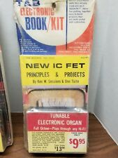 TAB IC FET Book 613 / Kit K14 Design Tunable Electronic Organ Kit - RARE Vintag