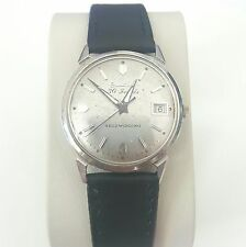 Vintage 1960s Bulova M4 Mechanical Automatic Date Men's Dress USA Wrist Watch