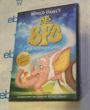 The B.F.G.: Big Friendly Giant (DVD, 2016, Roald Dahl Animation) Brand New!