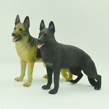 """2 X 1/6 Scale German Shepherd Dog Figurine For 12""""in Action Figures Toy Soldier"""
