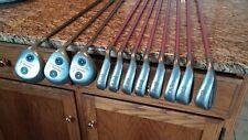 Rare Set of Kinetic CER Ladies Womens Iron Set + Wood Set Graphite Shafts RH