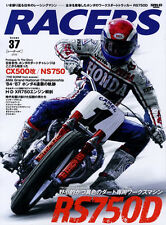 [BOOK] RACERS #37 Honda RS750D NS750 Ricky Graham Bubba Shobert H-D XR750 AMA