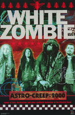 POSTER : MUSIC: WHITE ZOMBIE - ASTRO CREEP 2000 - FREE SHIPPING   #8009  LP59 J