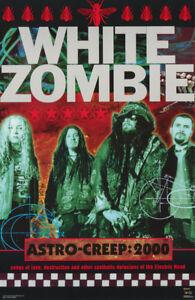 POSTER : MUSIC: WHITE ZOMBIE - ASTRO CREEP 2000 - FREE SHIPPING   #8009  LP59 J