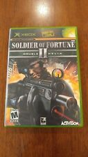Soldier of Fortune II: Double Helix (Microsoft Xbox, 2003) MINT COMPLETE!