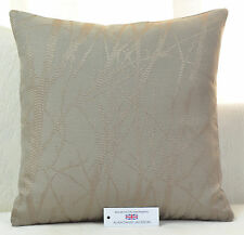 """CUSHION COVER 20""""x20"""" 51cm sq Woven Polyester Trees Mink"""