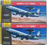 2x Heller 80308 - BOEING E-3 A/C AWACS - 1:72 - Flugzeug Modellbausatz Kit
