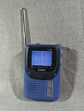 Vintage Casio SY-21 Portable Color 2.3inch LCD Analog TV Antenna Damaged