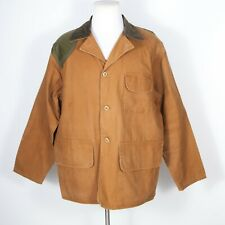 Vintage SafTbak Duck Canvas Light Shooting Hunting Jacket XL Made in USA