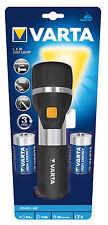 VARTA 7 X 5mm LED Day Light Flashlight Incl. 2x High Energy D Batteries