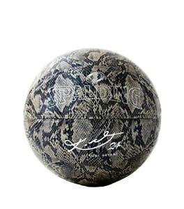 Spalding Kobe Bryant 94 Series 24K Silver Snakeskin Limited Edition MAMBA