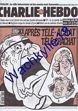 Charlie Hebdo n°170 du 20/09/1995 TF1 Le Pen Cabu Toulon