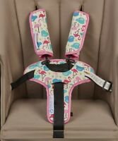 Keep Me Cosy Pram Harness & Buckle Cosy (patented) - Flamingo