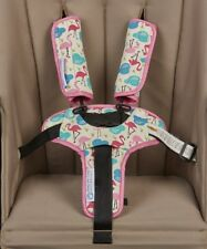 Keep Me Cosy® Harness Covers + Buckle Cosy* for Prams, Strollers - Flamingo