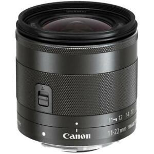Canon EFM 11-22mm F4-5.6 IS STM Ultra Wide Zoom Lens Brand New Jeptall