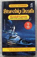 Starship Death aka Unwise Child by Randall Garrett PB 1st Leisure Books