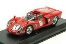 Alfa Romeo 33.2 Le Mans Test 1968 Bianchi / Zeccoli / Grosselin / Trosch 1:43